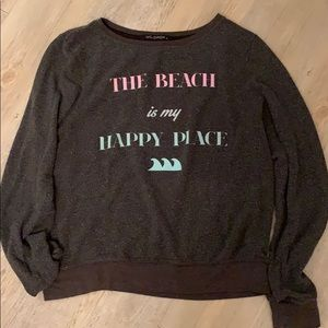 Wildfox Charcoal Sweater